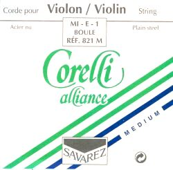 Corelli Alliance medium E kula Violinsträng