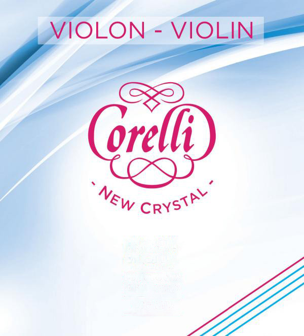 Corelli New Crystal medium sats (E ögla) Violinsträng