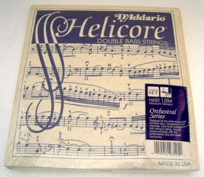 Helicore Orchestral medium sats 1/8 Bassträng