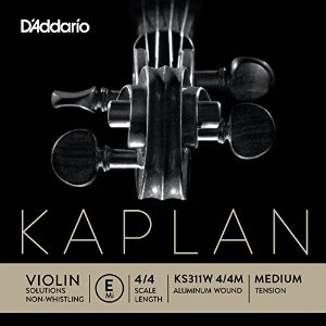 Kaplan Solutions Non-Whistling E Violinsträng