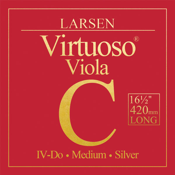 Larsen Virtuoso 42cm (extra long) medium sats Violasträng