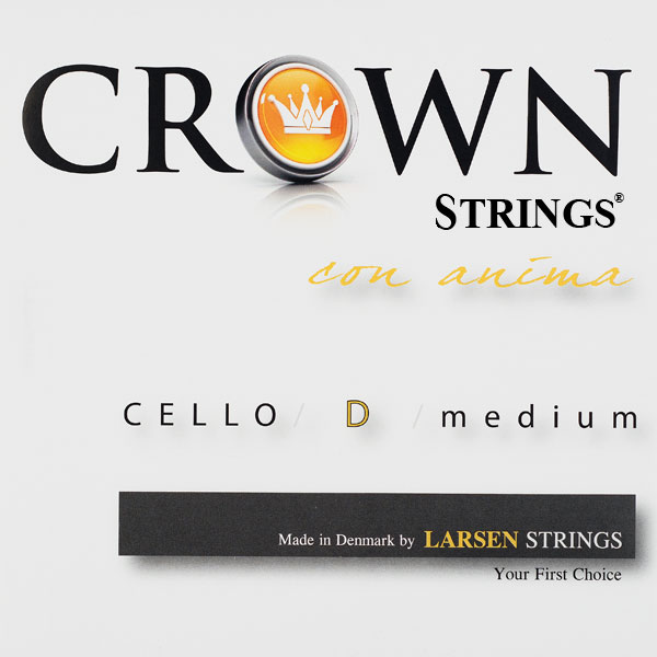 Crown medium D Cellosträng