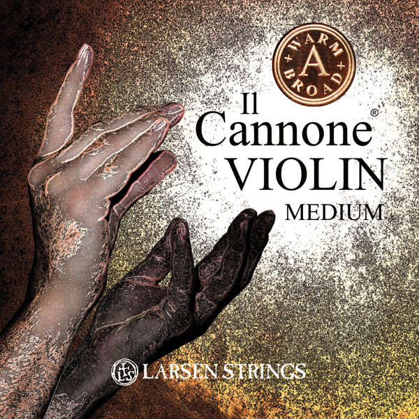 Larsen Il Cannone medium A warm and broad Violinsträng